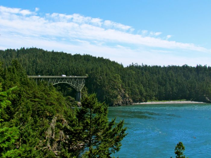 6. And a trip to Deception Pass State Park.