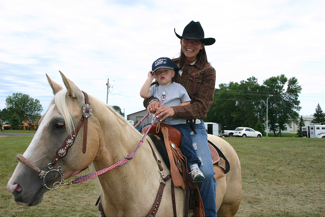 9. Go horseback riding.