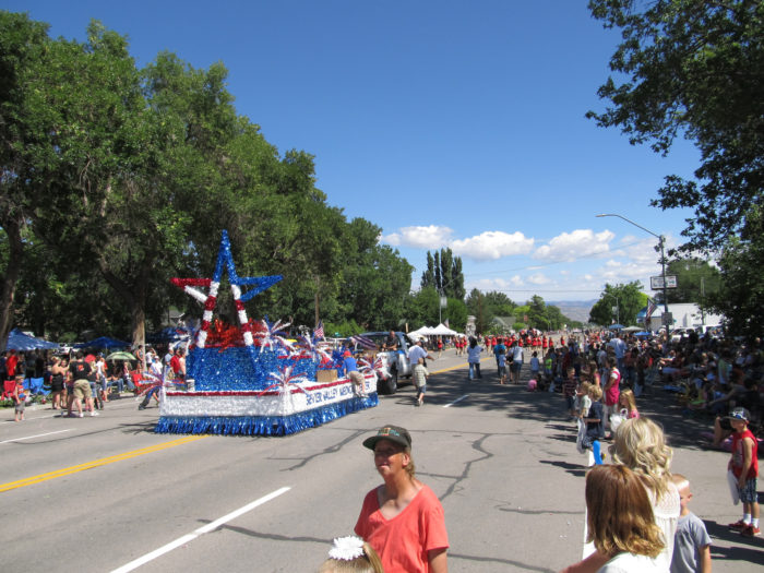 3. ...and we celebrate with parades TWICE in July!