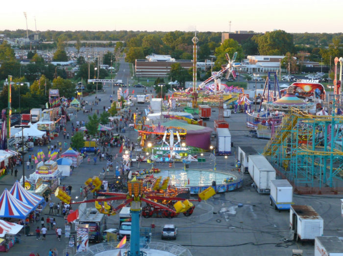 16. And The Ohio State Fair is something you look forward to...