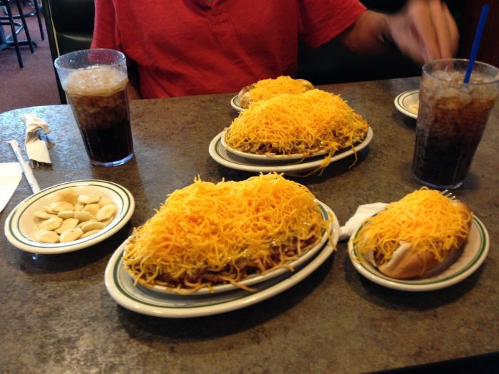 6. Try Skyline Chili before you knock it. (Then check out Tony Packo's or Netty's if their coneys don't cut it for you.)