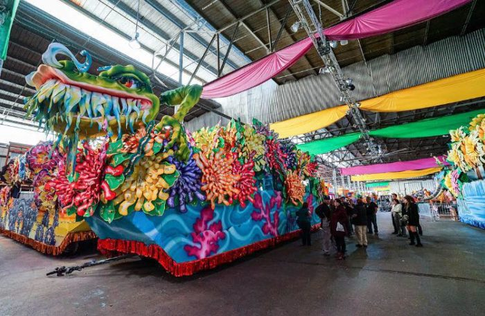The Blaine Kern studios have created the mardi gras floats that bring Carnival to life, and have since 1947.