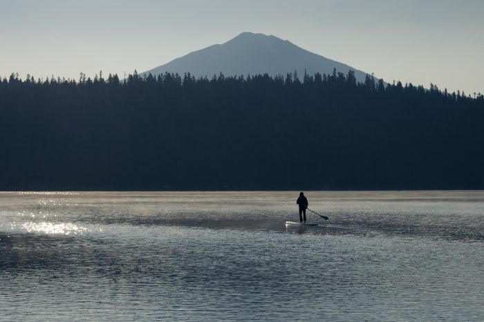 1. Go paddle boarding.