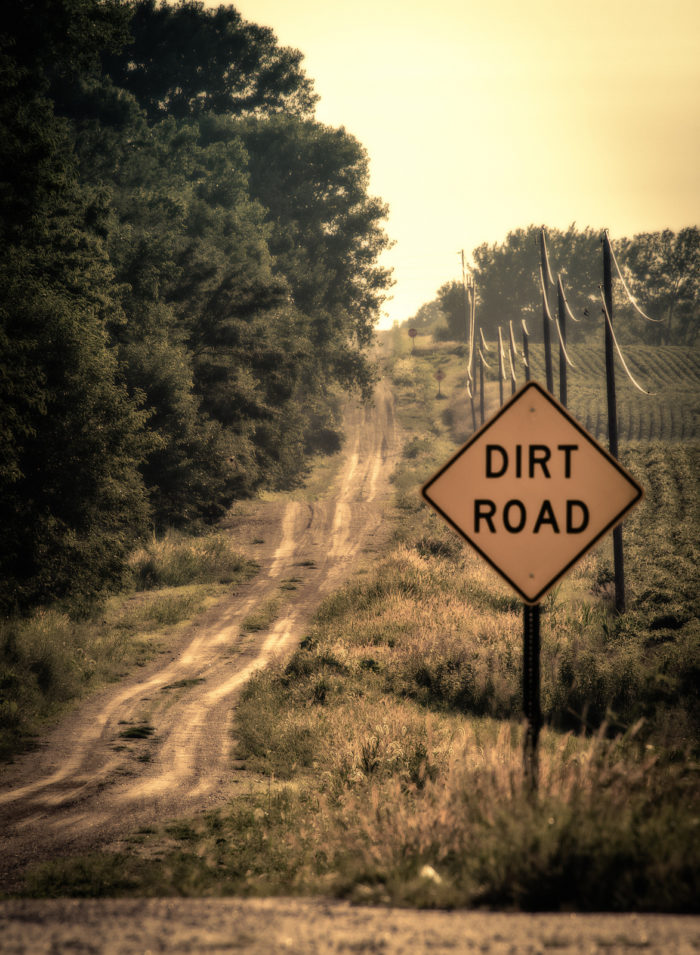 15. Country roads