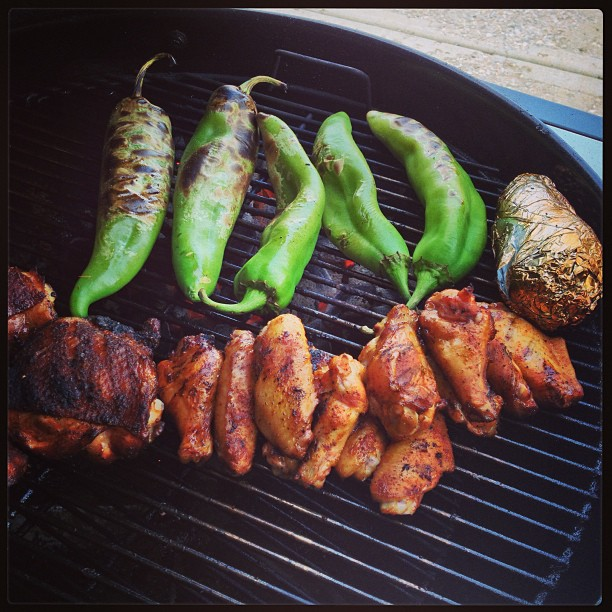 6. Smell of BBQ in the air = the smell of summer.