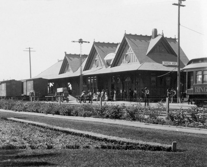 10. Santa Fe Depot in Santa Ana as it looked in 1911. Over 100 years ago!