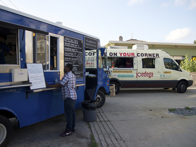 3. The food truck scene is also outstanding and the summer is the best time to find them around the city.