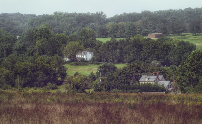 The Brandywine Valley is visible from parts of the park, showing how rural it is even in Wilmington.