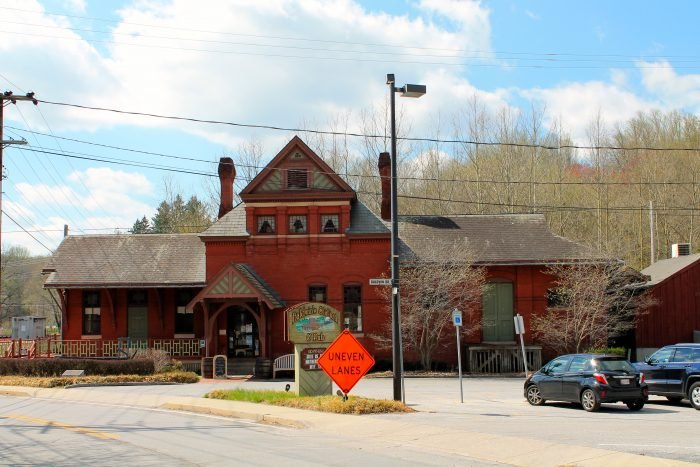 In fact, the unique Baldwin's Station restaurant is located in the town's original railroad station.