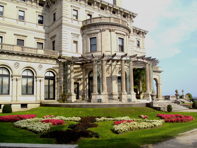7. The gilded age mansions found in Newport are breathtakingly beautiful.
