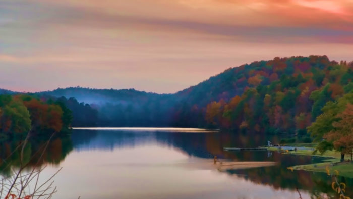 2. In Alabama, you're fortunate to experience the beauty of all four seasons.