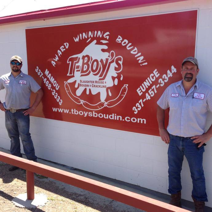 3. Boudin & Cracklins from T-Boy's, Ville Platte