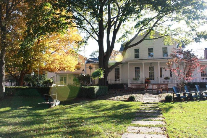 2. Explore the town of Old Lyme for a weekend at the historical Old Lyme Inn.