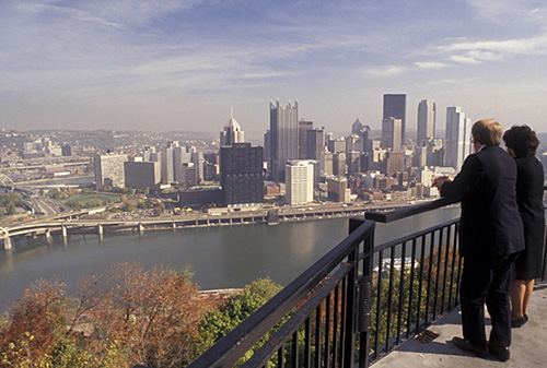 9. Drink in the beauty of Downown Pittsburgh from Mount Washington.