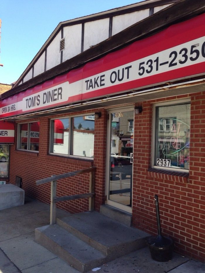 9. Tom's Diner, Pittsburgh