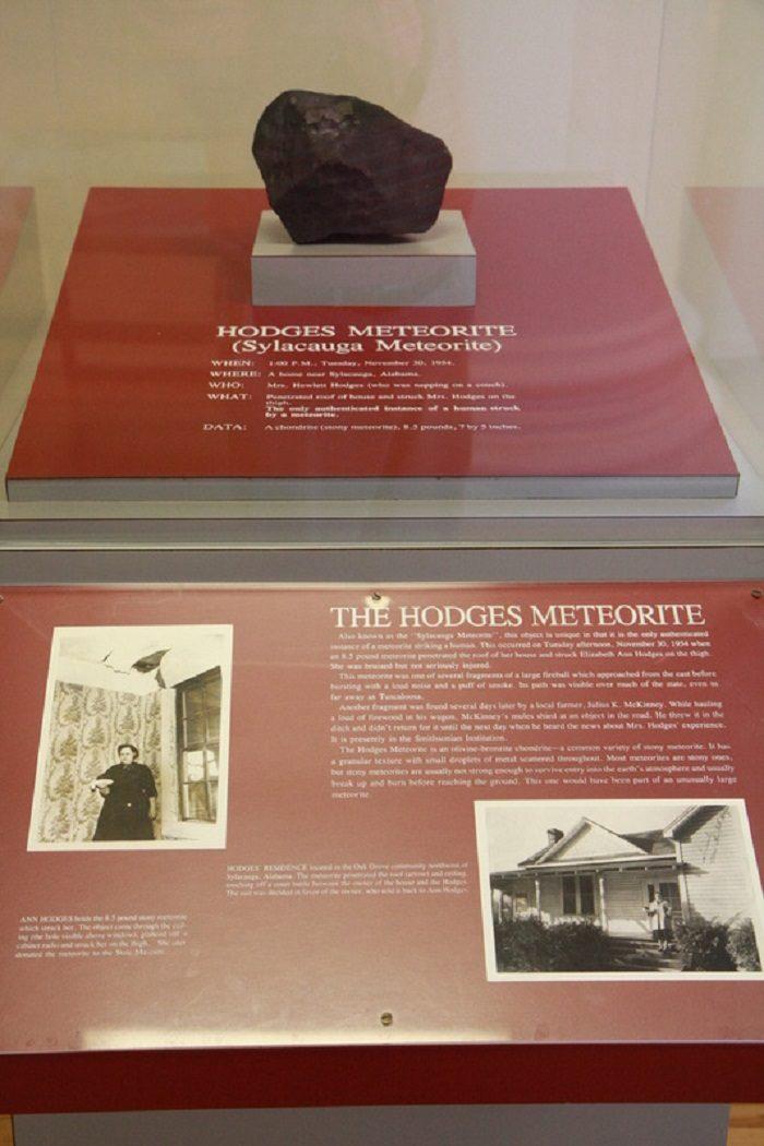 6. Hodges Meteorite - Tuscaloosa, AL