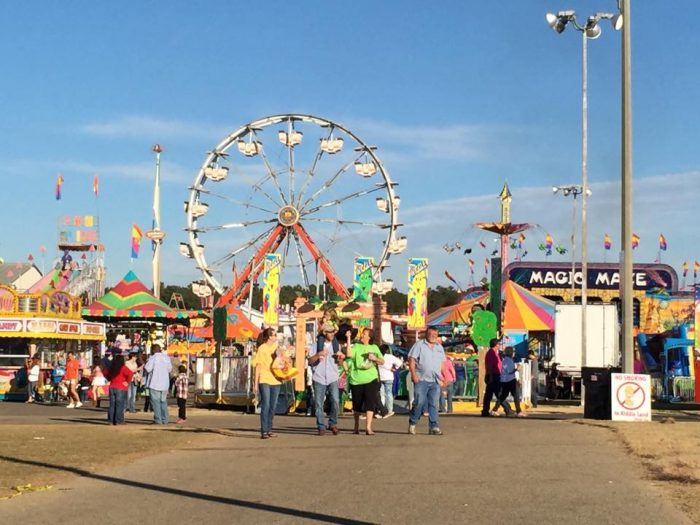 9. Fun events are always going on in Alabama, including fairs and festivals.
