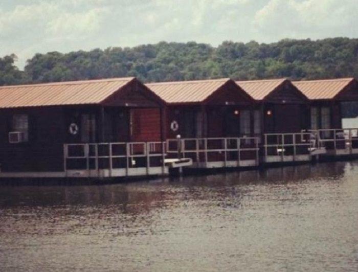 3. Floating Cabins - Lake Guntersville