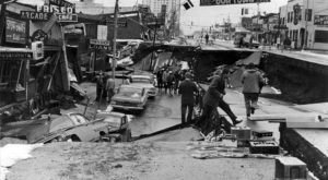 This Rare Footage Of Alaska's 1964 Good Friday Earthquake Is Positively Heart Wrenching