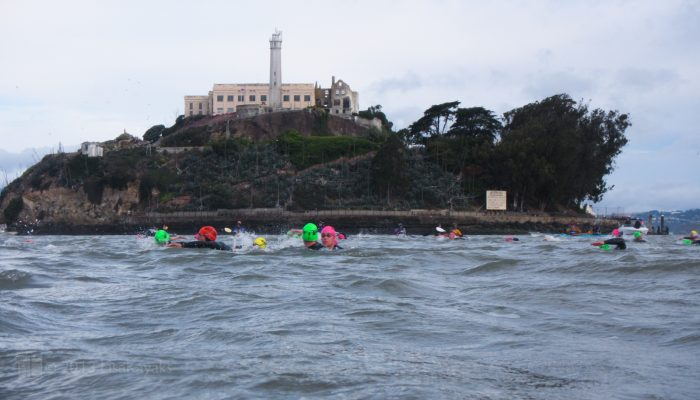 1. Get in the bay and escape from Alcatraz! Sign up for the next triathlon