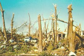 "5. An F5 tornado overtakes the Andover area and becomes known as one of the ""most-filmed F5 tornadoes of all time."""
