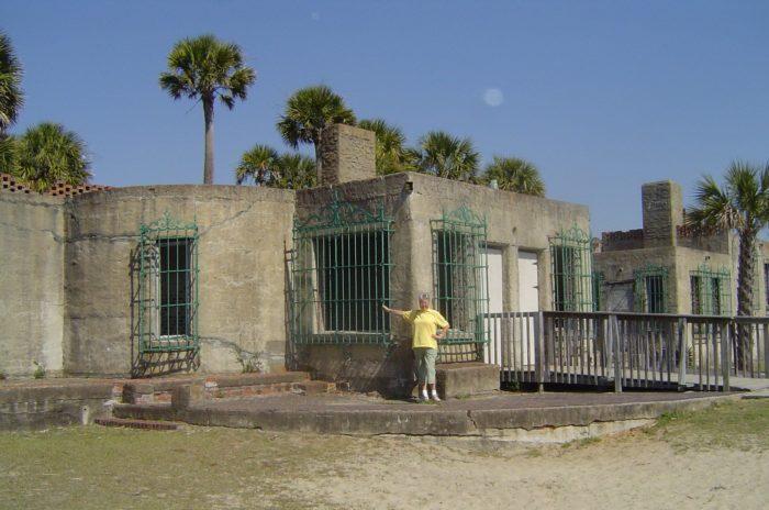 9. Atalaya Castle at Huntington Beach State Park.