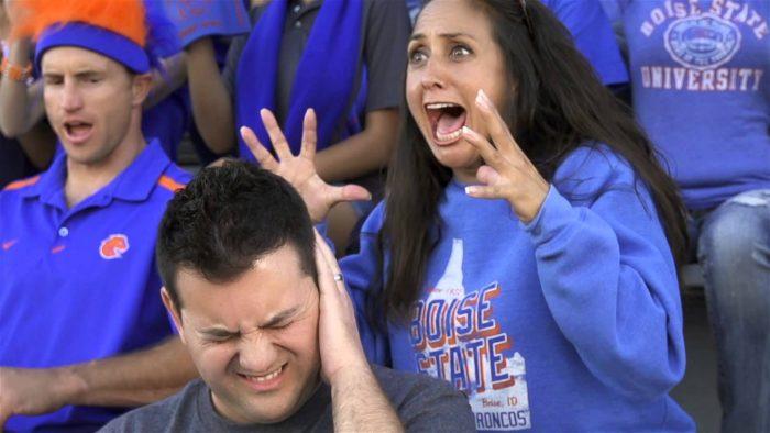 5. The Boise State Fan