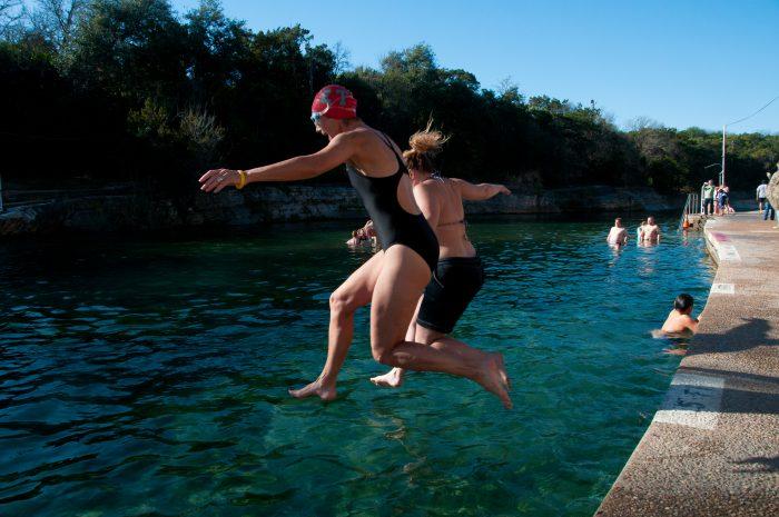 4. Cool off at Barton Springs Pool.