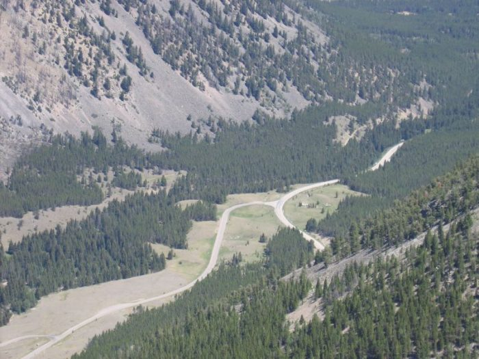 7. This viewpoint is on the Beartooth Highway near Red Lodge.