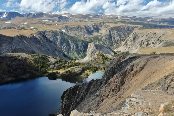 1. This is Beartooth Pass at the Montana-Wyoming border.