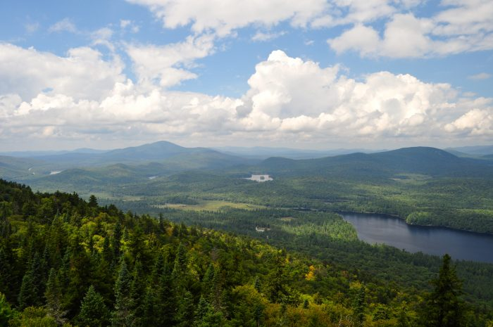 12. Visiting the Adirondacks is like diving into your own paradise.