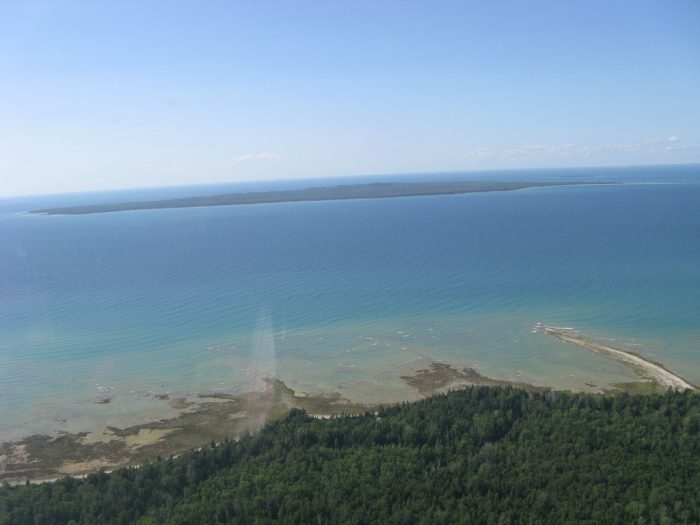 1. Beaver Island is the largest island on Lake Michigan, at 55 square miles.