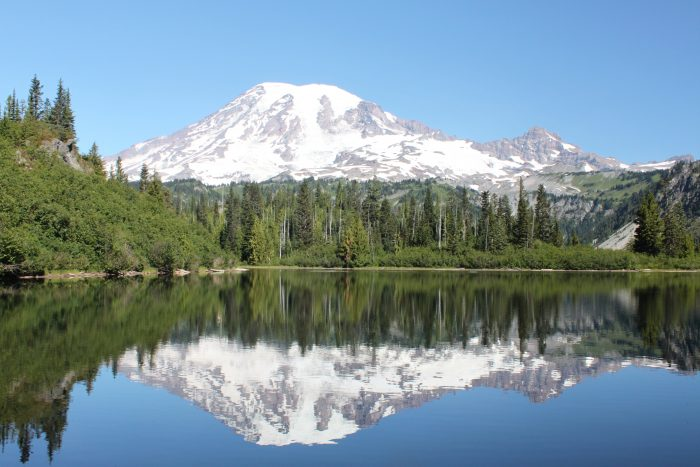 3. Instead of Mount Rainier National Park…