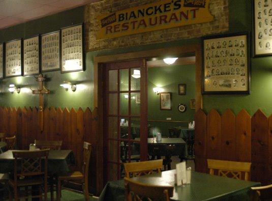 10. Biancke's Restaurant at 102 S Main Street in Cynthiana