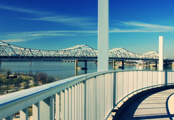 12. Big Four Pedestrian Bridge In Waterfront Park, Louisville