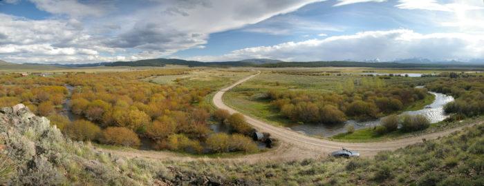 2. The Mt. Haggin Scenic Drive