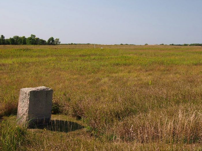 The land is beautiful, sweeping prairie, and you can practically feel the past come alive.