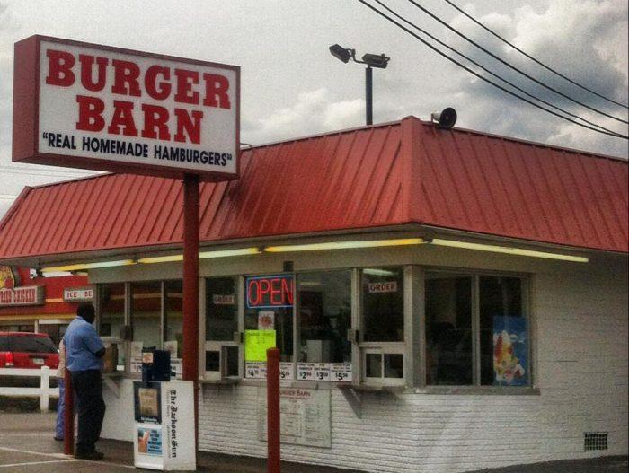 9. Burger Barn - Jackson