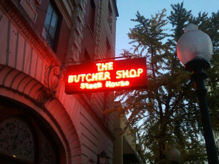 7. Butcher Shop Steakhouse - Memphis