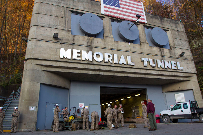 Former West Virginia Turnpike Tunnel Is Now A Military