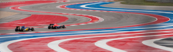 3. Cruise down the circuit of the Americas racetrack.