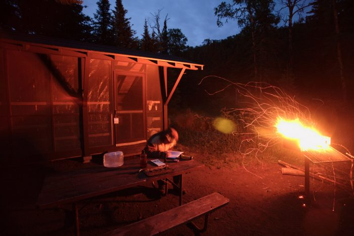 7. That means quiet nights of camping, with just you and your thoughts...