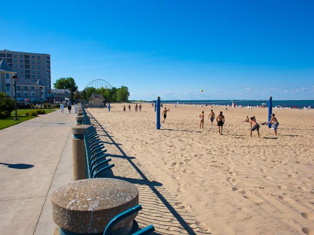 1. Cedar Point Beach