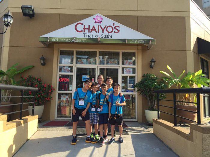 2. Chaiyo's Thai & Sushi - Knoxville