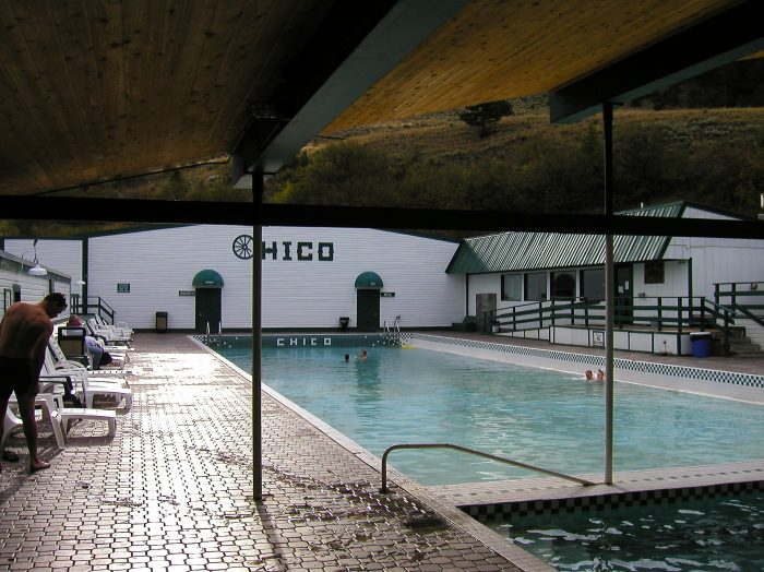 13. Hot springs.