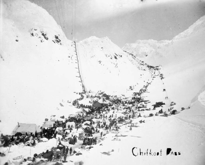 "3. 1898 Chilkoot Trail ""Palm Sunday"" Avalanche"