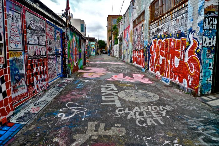 10. The Mission District: Clarion Alley & Balmy Street