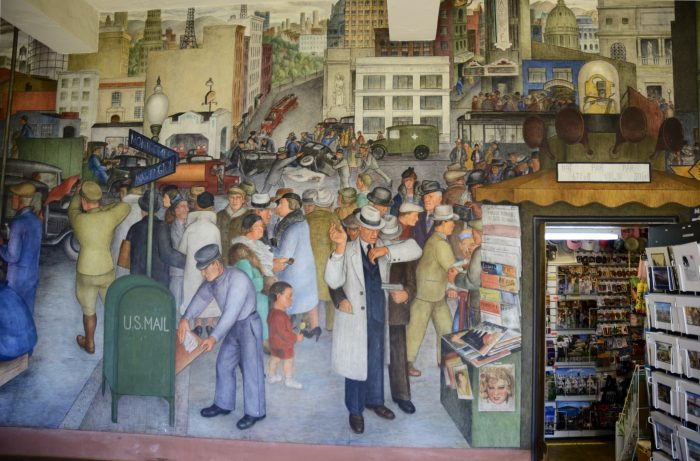 4. Admire the city's many murals.
