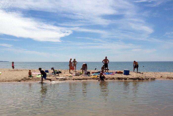 3. Cool off at North Bar Lake.