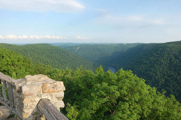 4. Main Overlook at Coopers Rock State Forest